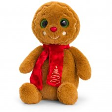 SX2671: 20cm Gingerbread Man with Scarf
