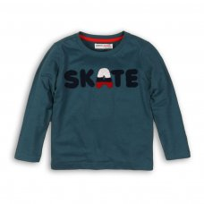 Skate 1: L/S Top With Chest Applique (9 Months-3 Years)