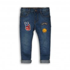 Skate 10: Denim Jean With Badge Detail (9 Months-3 Years)
