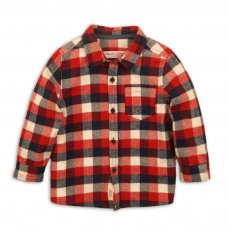 Skate 7: Checked Shirt With Chest Pocker (9 Months-3 Years)