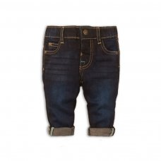 Smart 6: Dark Wash Denim Jean (0-12 Months)