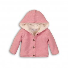 Sparkle 8: Fur Lined Cardigan (0-12 Months)