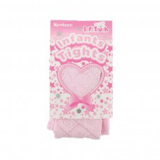 T35-P: Pink Shiny Diamond Tights (0-24 Months)