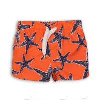 TB BOARD 2: Starfish Print Board Swim Shorts (9 Months- 3 Years)