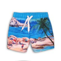TB BOARD 3: Beach Print Board Swim Shorts (9 Months- 3 Years)