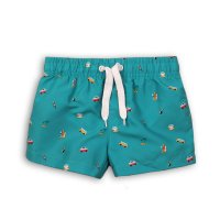 TB BOARD 4: Transport Print Board Swim Shorts (9 Months- 3 Years)