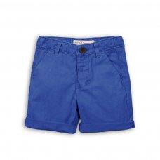 TB CSHORT 3: Blue Chino Short (9 Months-3 Years)