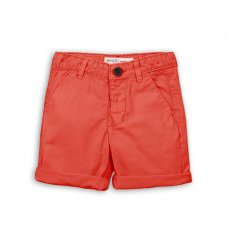 TB CSHORT 4: Red Chino Short (9 Months-3 Years)
