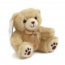 TB115-BR: 15cm Brown Teddy Bear w/Paws