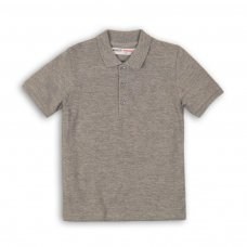 TBP POLO 10: Grey Pique Polo (9 Months-3 Years)