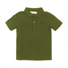 TBP POLO 11: Khaki Pique Polo (9 Months-3 Years)