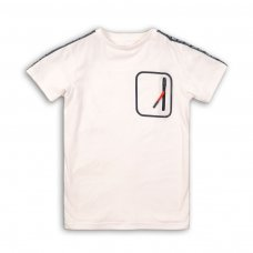 Team 2: Short Sleeve T-Shirt With Chest Pocket Detail (3-8 Years)