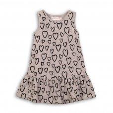 TG DRESS 4: Aop Hearts Dress (9 Months-3 Years)