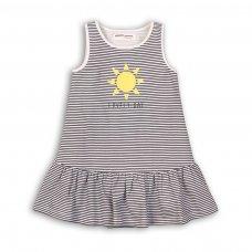 TG DRESS 1: Navy Striped Dress (9 Months-3 Years)