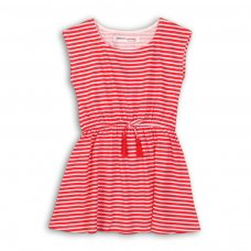 TG DRESS 8: Red Striped Dress (9 Months-3 Years)