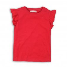 TGS VEST 1: Raspberry Slub Vest (9 Months-3 Years)
