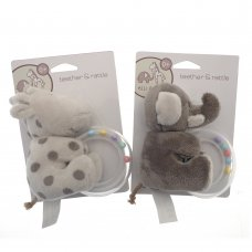 TOY137129: Elli & Raff Teether/Rattle