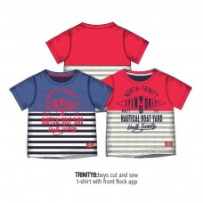 Trinity 8: S/S Cut & Sew T Shirt (1-3 Years)