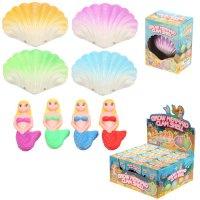 TY638: Mermaid Hatching Clam Shell