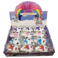 TY673: Squeezable Unicorn Mesh Ball