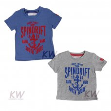 Trinity 3: S/S Washed Marl T Shirt (1-3 Years)