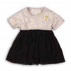Twist 12: Pleated Chiffon Skirt Dress (9 Months-3 Years)