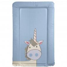 Blue Unicorn Changing Mat