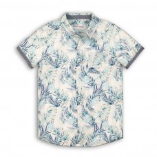 Venice 3P: All Over Printed Short Sleeve Shirt (8-13 Years)