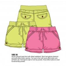 Vibe 8: Garment Dyed Short (1-3 Years)