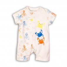 Water 2: 2 Piece All Over Print Romper & Socks Set (0-12 Months)