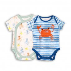 Water 6: 2 Pack Bodysuits (0-12 Months)