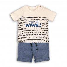 Wave 1P: 2 Piece Top & Oxford Short Set (12-24 Months)