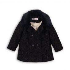 Wonder 2: Lurex Mixed Wool Coat (9 Months-3 Years)