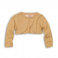Wonder 6: Knitted Lurex Shrug With Diamante Button (9 Months-3 Years)