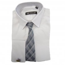 3 Pce White St Chiman Shirt (15 Years)