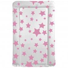 Pink Stars Changing Mat