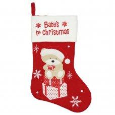 XM990: Christmas Stocking - Baby's 1st Christmas