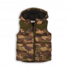 Yay 8: Nylon Padded Camo Gilet (9 Months-3 Years)