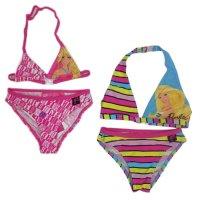 Barbie1: Girls Barbie 2 Piece Swim Suit (2-8 Years)