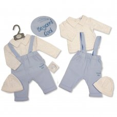 BIS-2020-2286: Baby Boys 3 Piece Outfit- Beyond Cool (NB-3 Months)