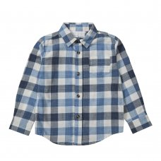 KC144: Infant Boys Long Sleeve Woven Check Shirt (3-5 Years)