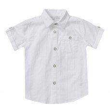 KC145: Infant Boys Short Sleeve Woven Shirt (2-5 Years)