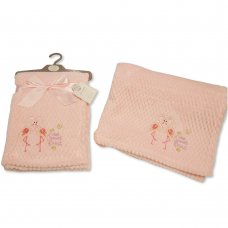 BW-112-1011: Baby Little Sweet Heart Wrap- Pink