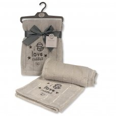 BW-112-1015G: I Love Cuddles Baby Wrap - Grey