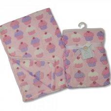 BW-112-676: Baby Cupcake Blankets