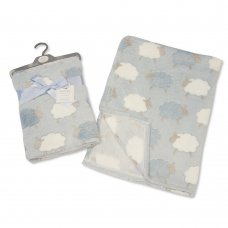 BW-112-930-S: Baby Sky Printed Sheep Wrap