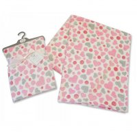 BW-112-946P: Baby Pink Hearts Wrap