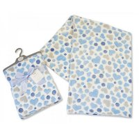 BW-112-946S: Baby Blue Hearts Wrap