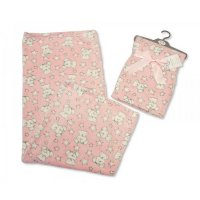 BW-112-967P: Baby Pink Teddy Wrap