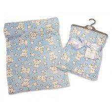 BW-112-967S: Baby Blue Teddy Wrap
